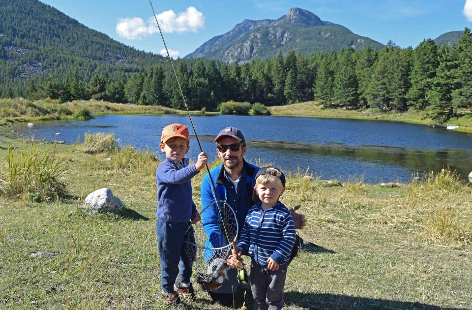 Blue Ribbon Fishing in Montana with the family