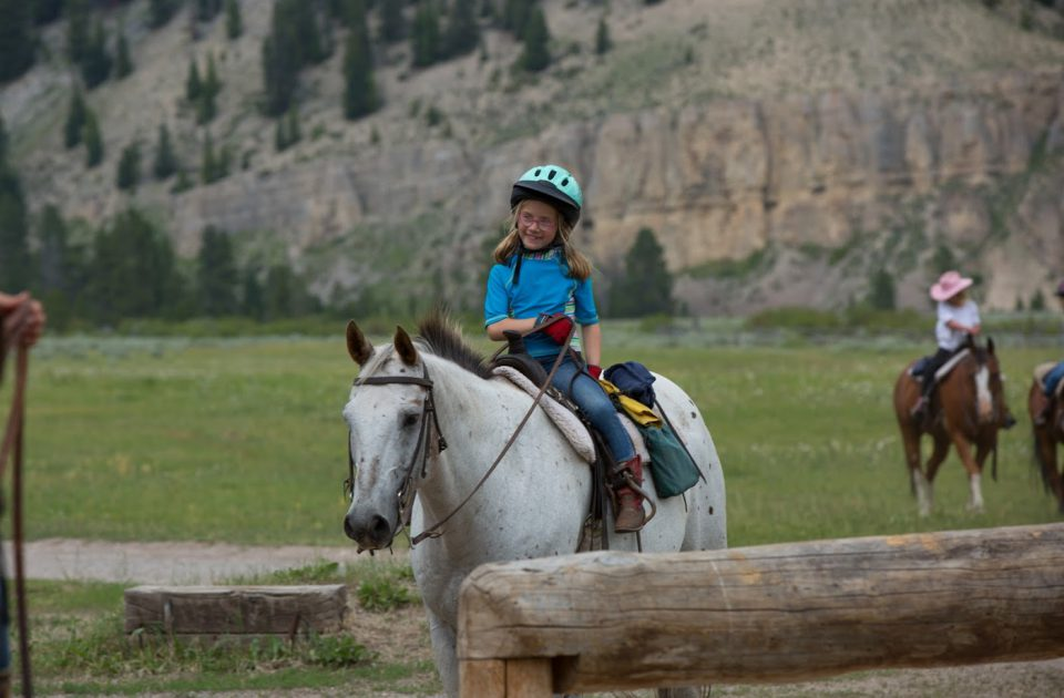 Horseback riding lessons at Elkhorn Ranch
