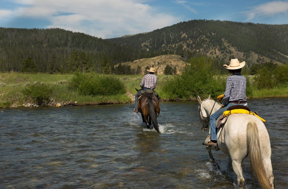 Montana Horseback riding vacation
