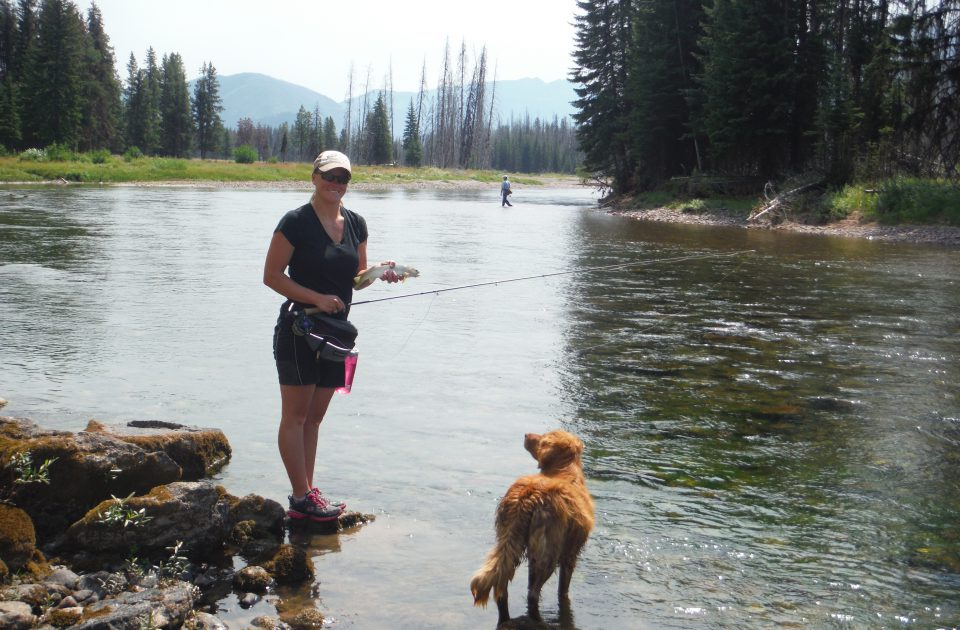 Get the true Montana experience fishing at Rich's Ranch