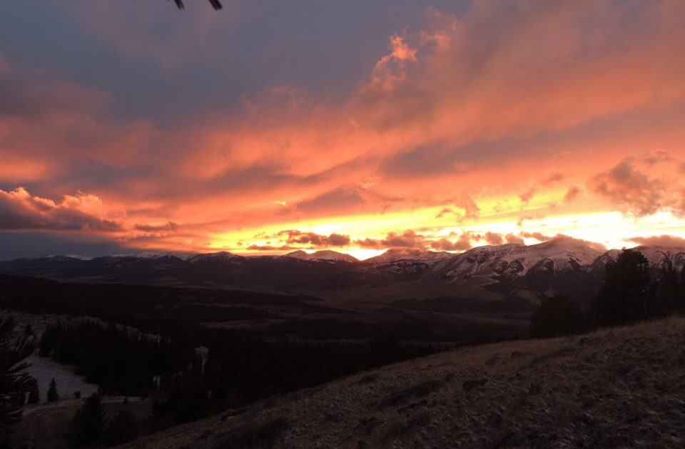 Stunning views from the Montana Dude Ranch | Upper Cayon Outfitters