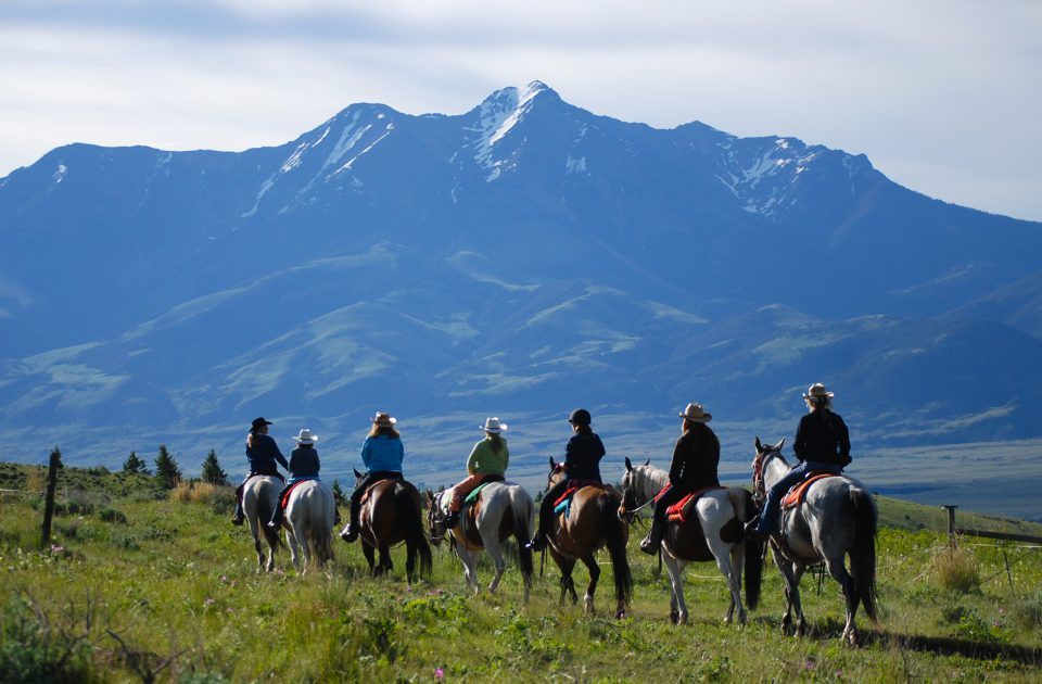 Horseback Trail Ride at Mountain Sky Guest Ranch