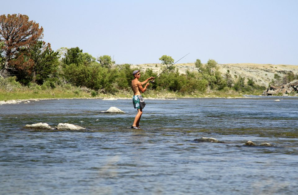 Fishing is just one of the many activities you can enjoy on your ranch vacation