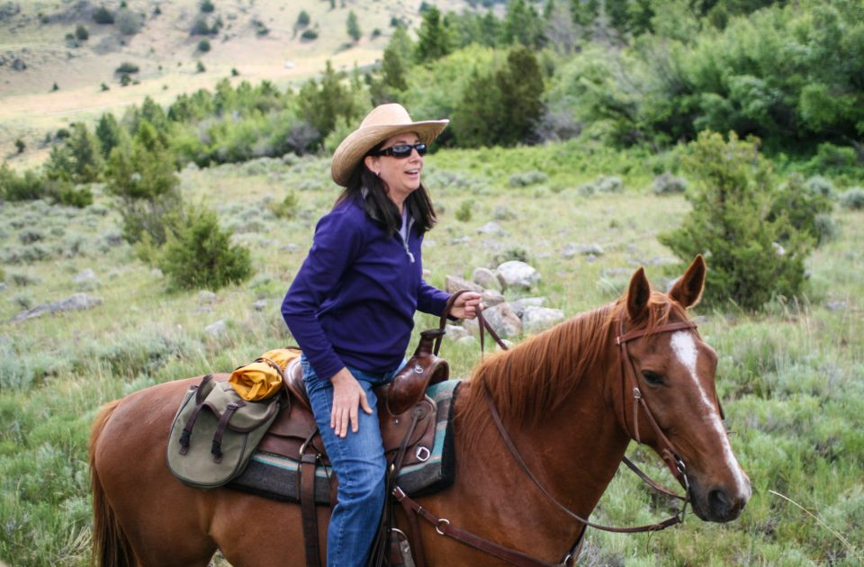 Horseback Riding Vacation at Hubbard's Six Quarter Circle Ranch