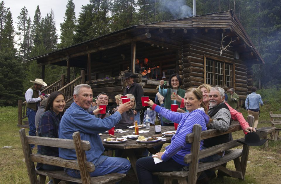 Time among friends is time well spent at the Covered Wagon Ranch