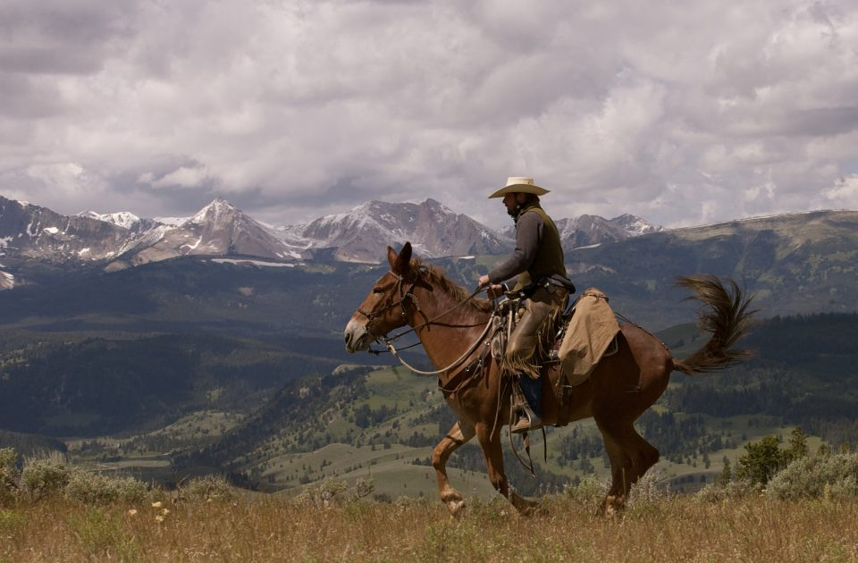 Authentic Dude Ranch Vacation with stunning Montana scenery