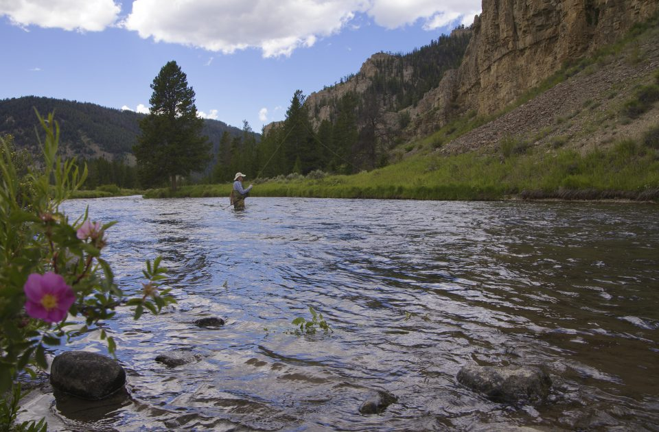 Peaceful fishing excursion as part of your Dude Ranch Vacation