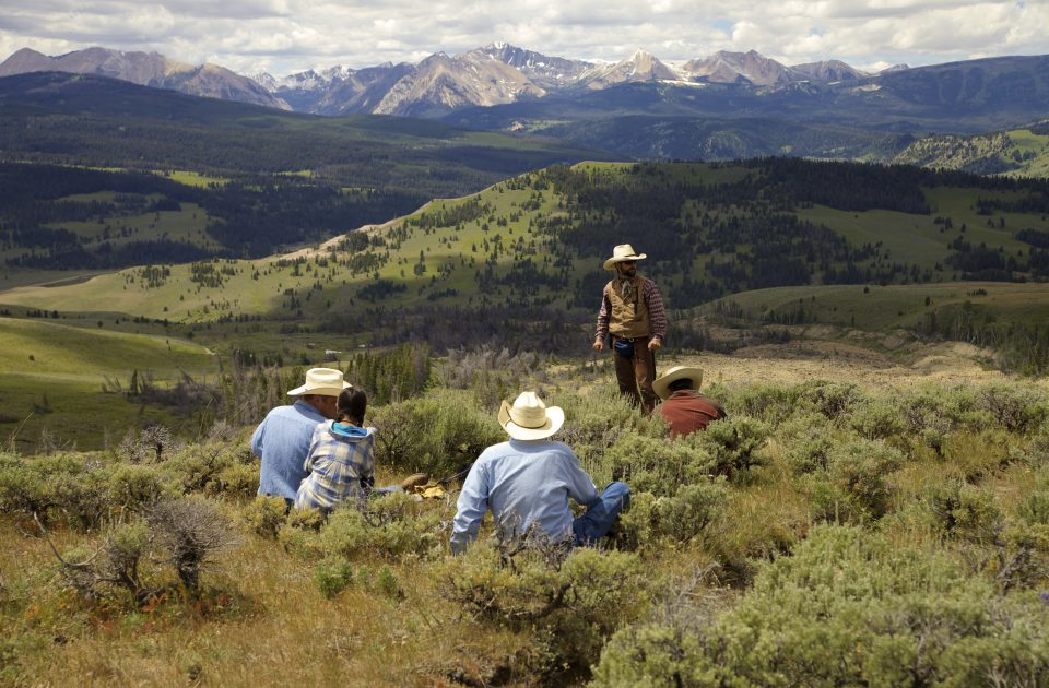 Where will the trail lead? | Montana Dude Ranch Vacation