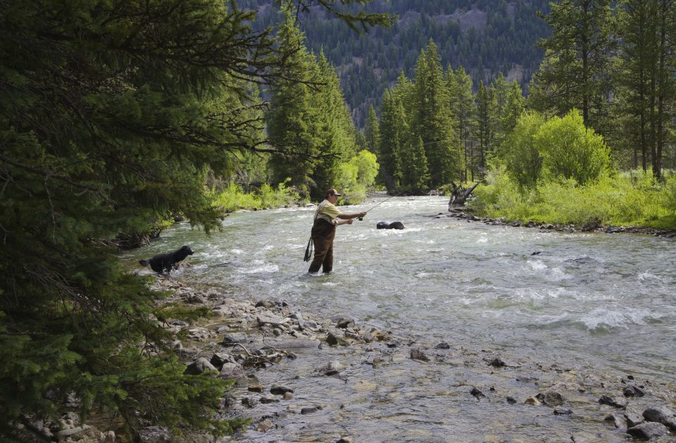 Add a morning of fishing to your dude ranch vacation itinerary