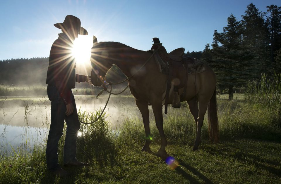 Disconnect to Reconnect at Flathead Lake Lodge | Horsemanship