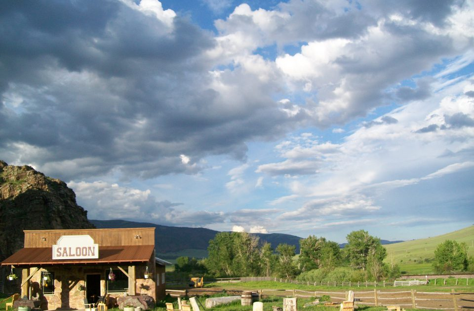 Take an authentic Montana vacation at the Rocking Z Guest Ranch