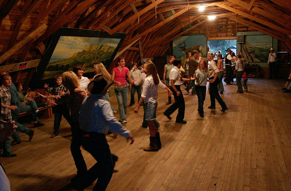 Barn Dance | Authentic Montana Dude Ranch Experience