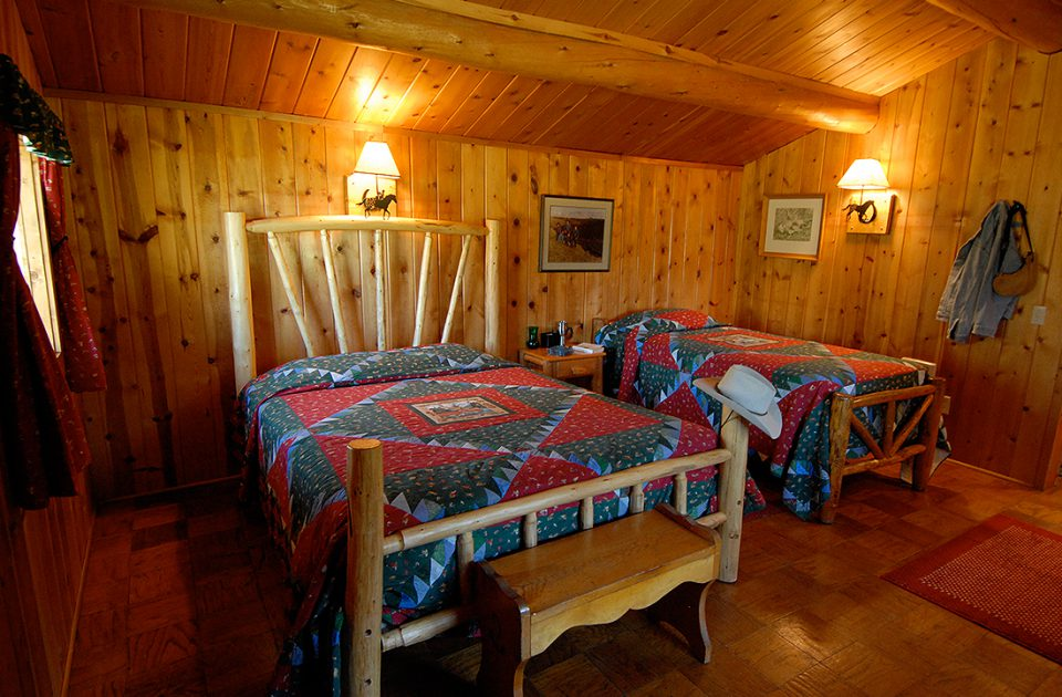 Lodging at Nine Quarter Circle Ranch