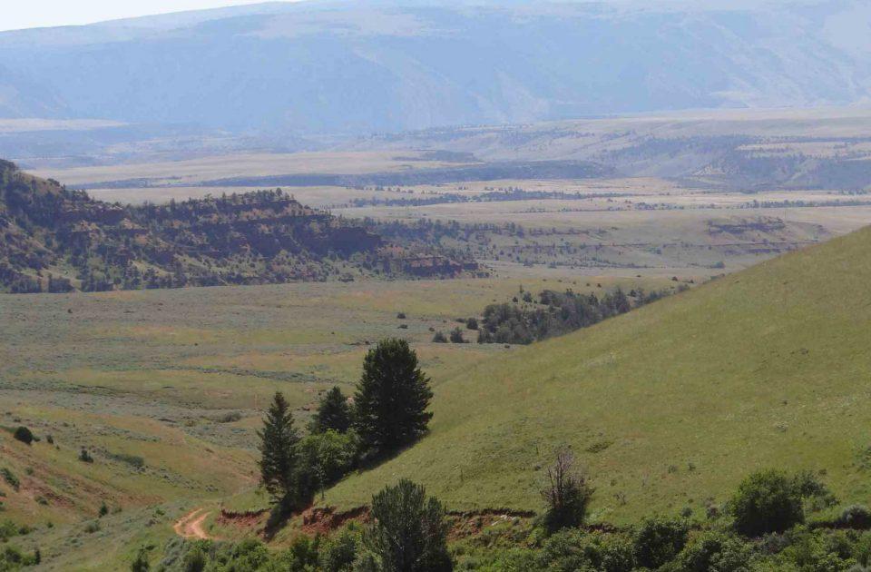 Breathtaking views are plentiful at Dryhead Ranch