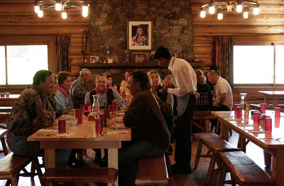 Main Dining Hall | Nine Quarter Circle Ranch