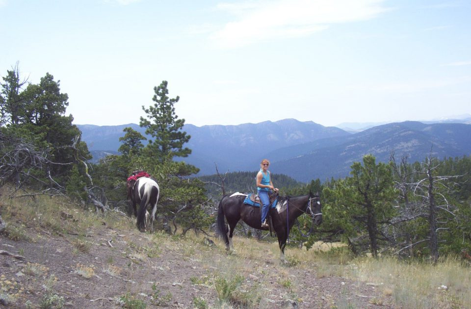 Horseback riding at Blacktail Ranch | Montana Guest Ranch