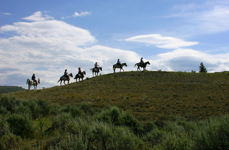 Horseback Riding at a Montana Dude Ranch