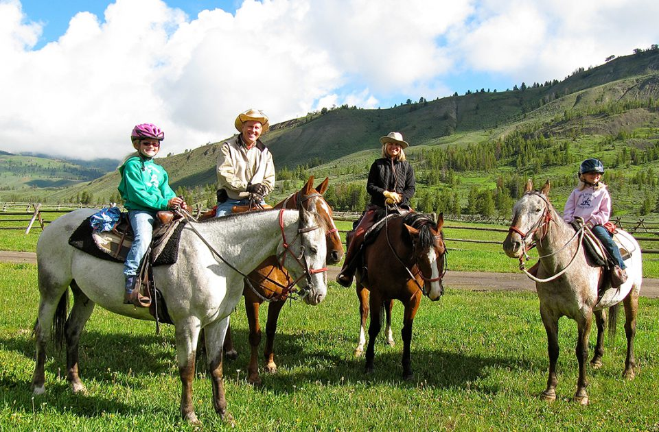 Horseback Family Adventure | Nine Quarter Circle Ranch
