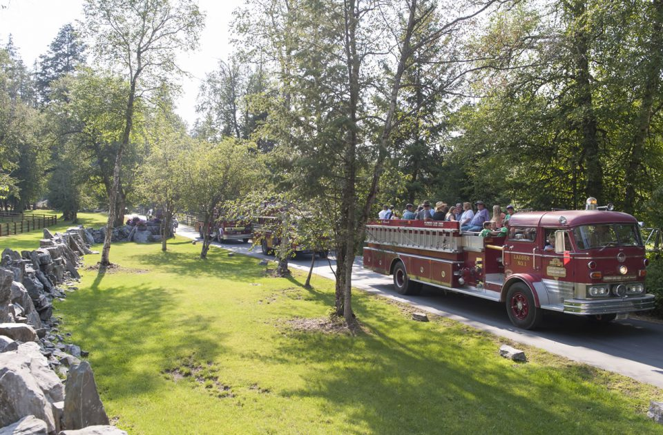 Firetruck Tour | Averill's Flathead Lake Lodge