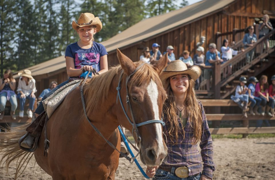 Horsemanship as part of the kids' program
