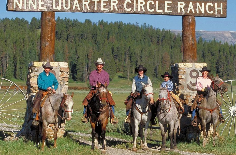 Welcome to Montana's Nine Quarter Circle Ranch