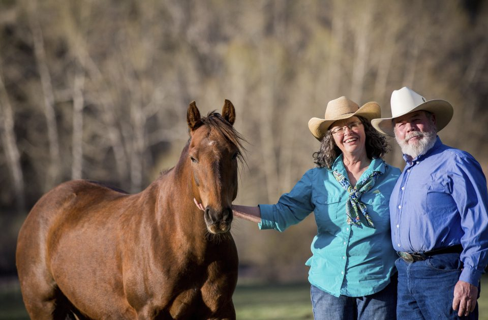 Meet the owners of the Rocking Z Guest Ranch: Zack and Patty Wirth