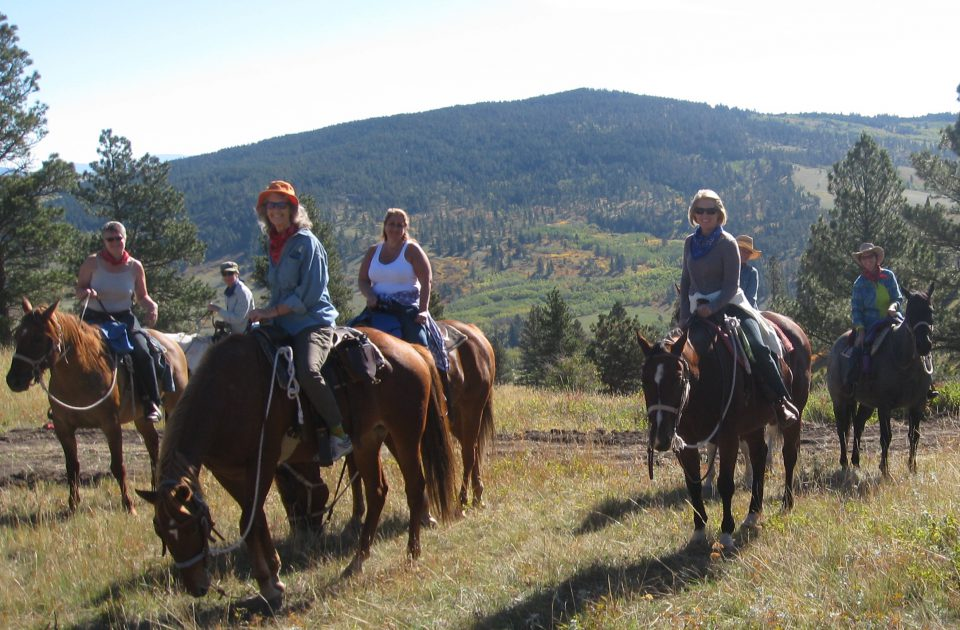 Blacktail Ranch can accommodate riders of a range of abilities