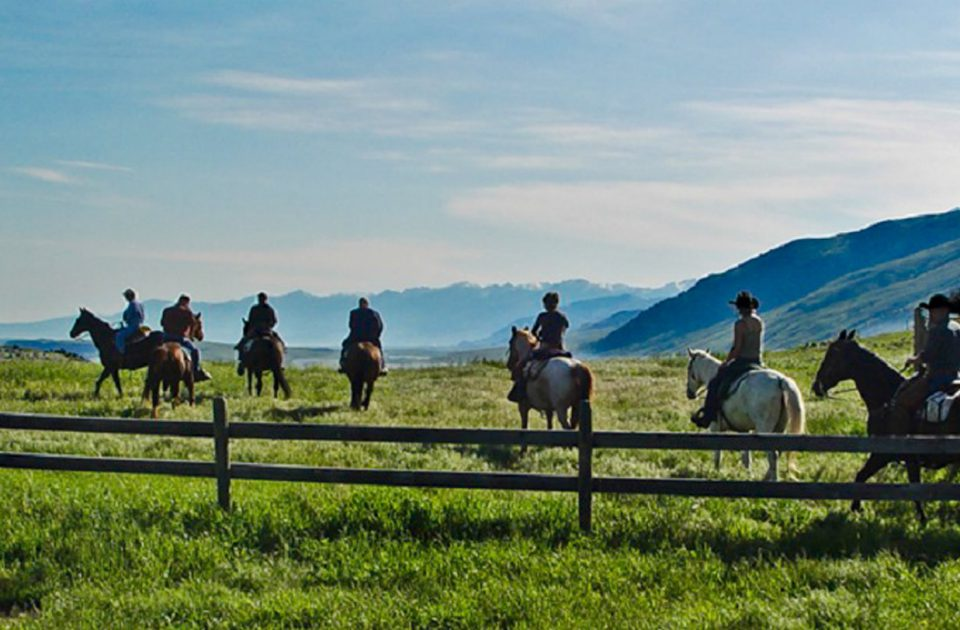 Horseback Riding at one of Montana's premier working ranches