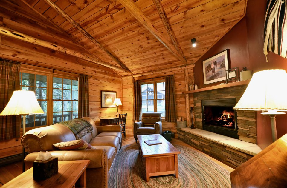 Pristine Luxury Accommodations await you at Mountain Sky Guest Ranch