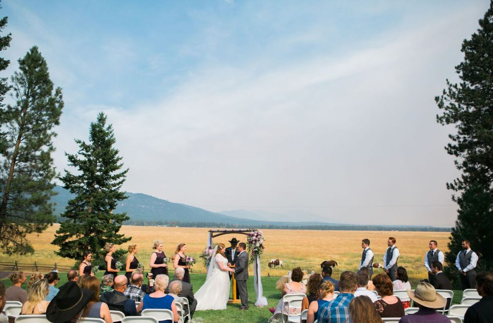 Have your wedding at Rich's Montana Guest Ranch