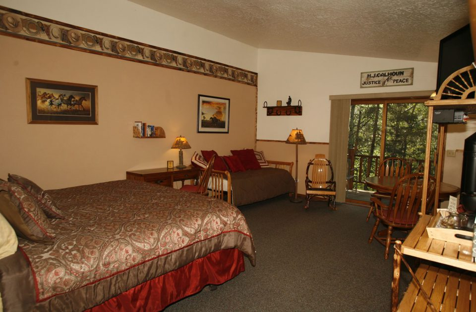 Comfortable lodging at Rich's Montana Guest Ranch
