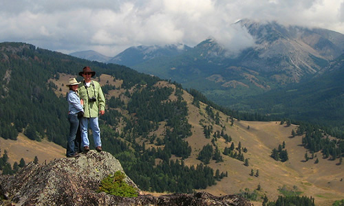 Photo of Montana Dude Ranch hikers