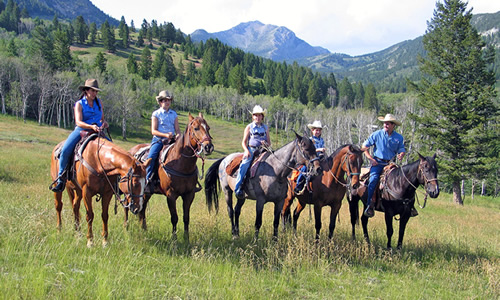 Montana Dude Ranch Horseback Riding Activities