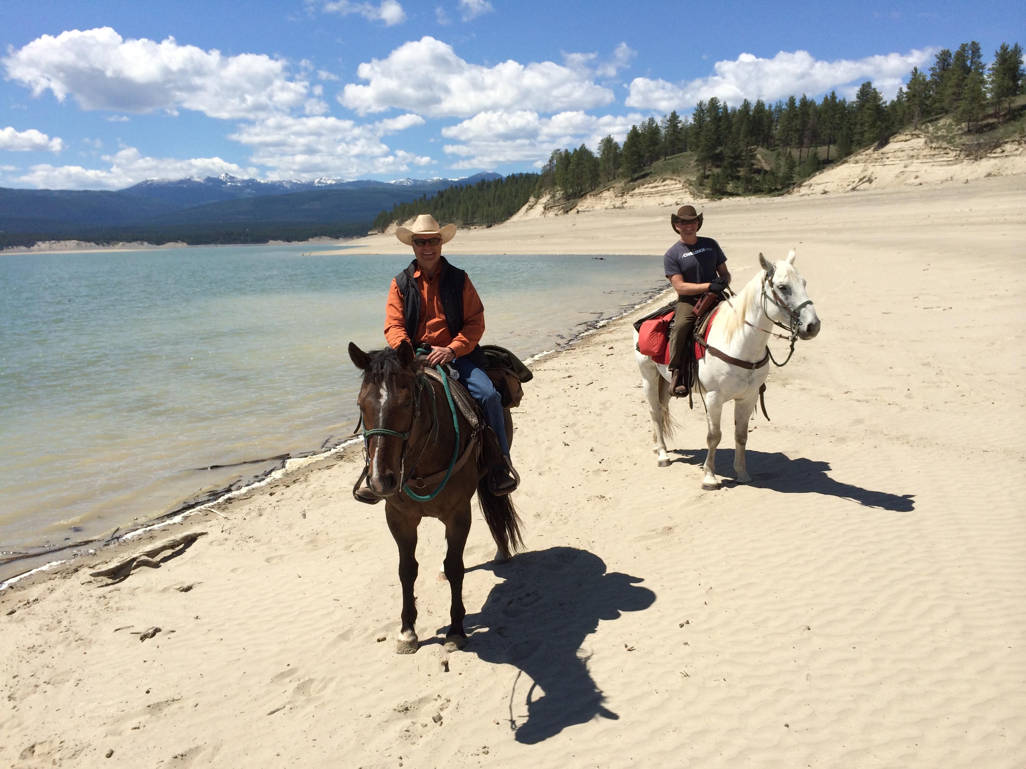 Horseback Riding in Whitefish, Montana