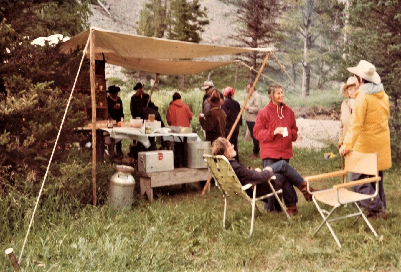 1968 Chuck Wagon Setup