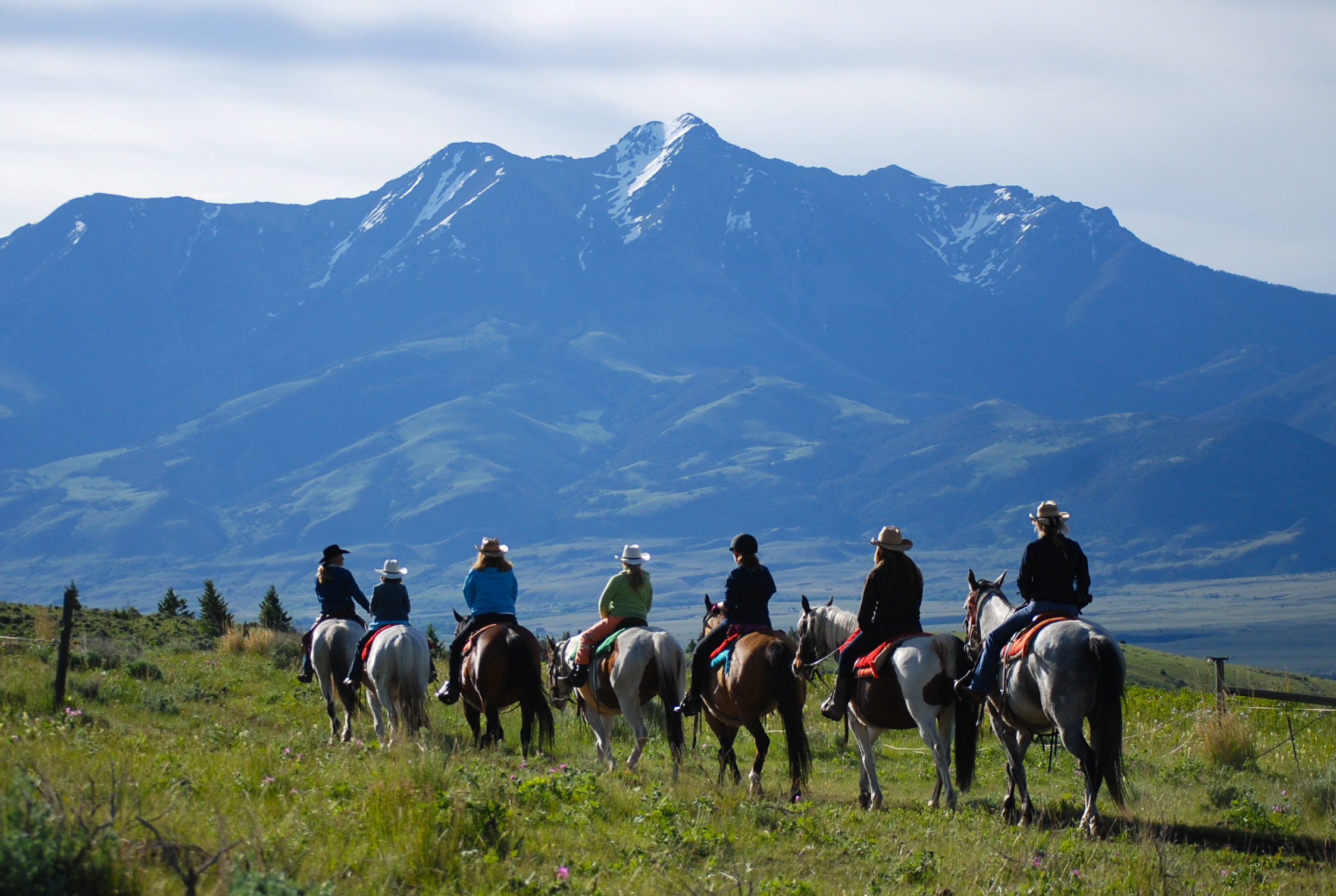 Let's put those activities into motion! Let's go riding under Montana's Big Sky