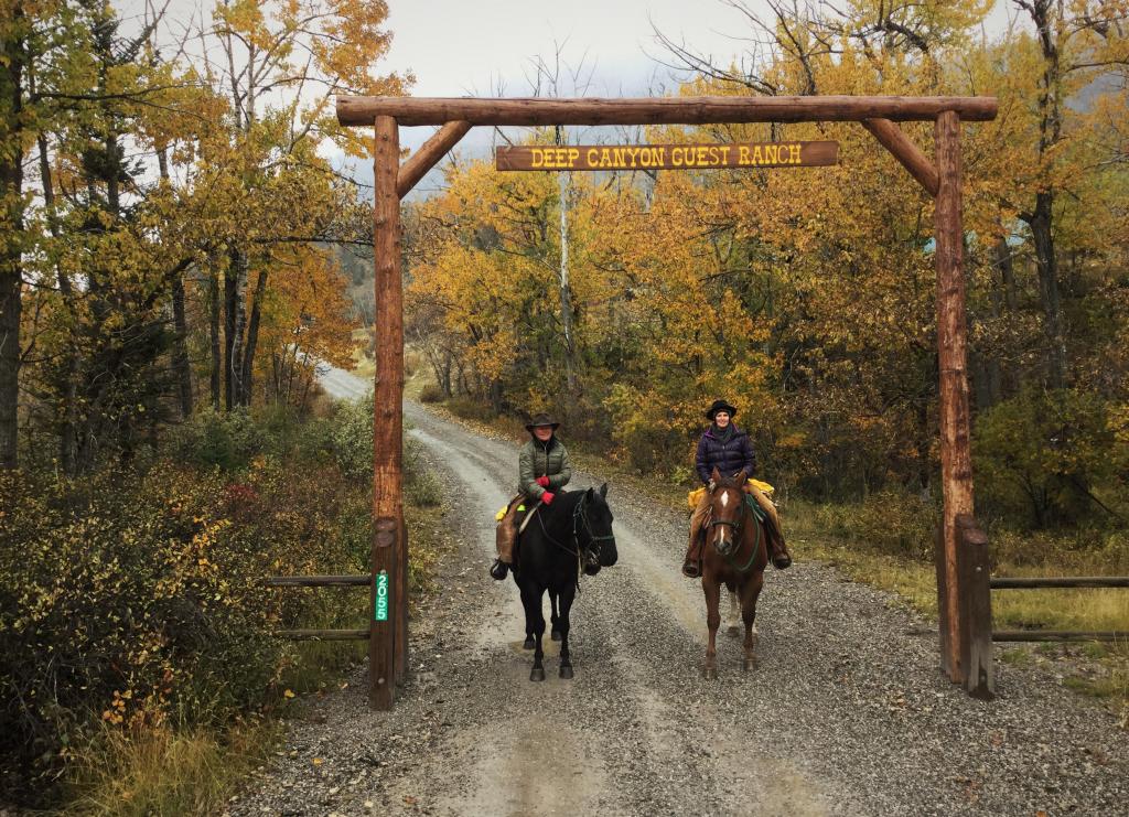 Fall at Deep Canyon Guest Ranch