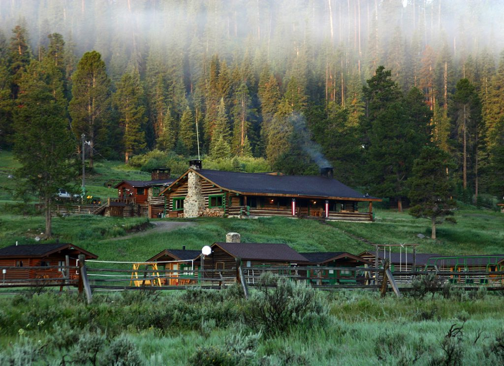 Montana Dude Ranch in Autumn