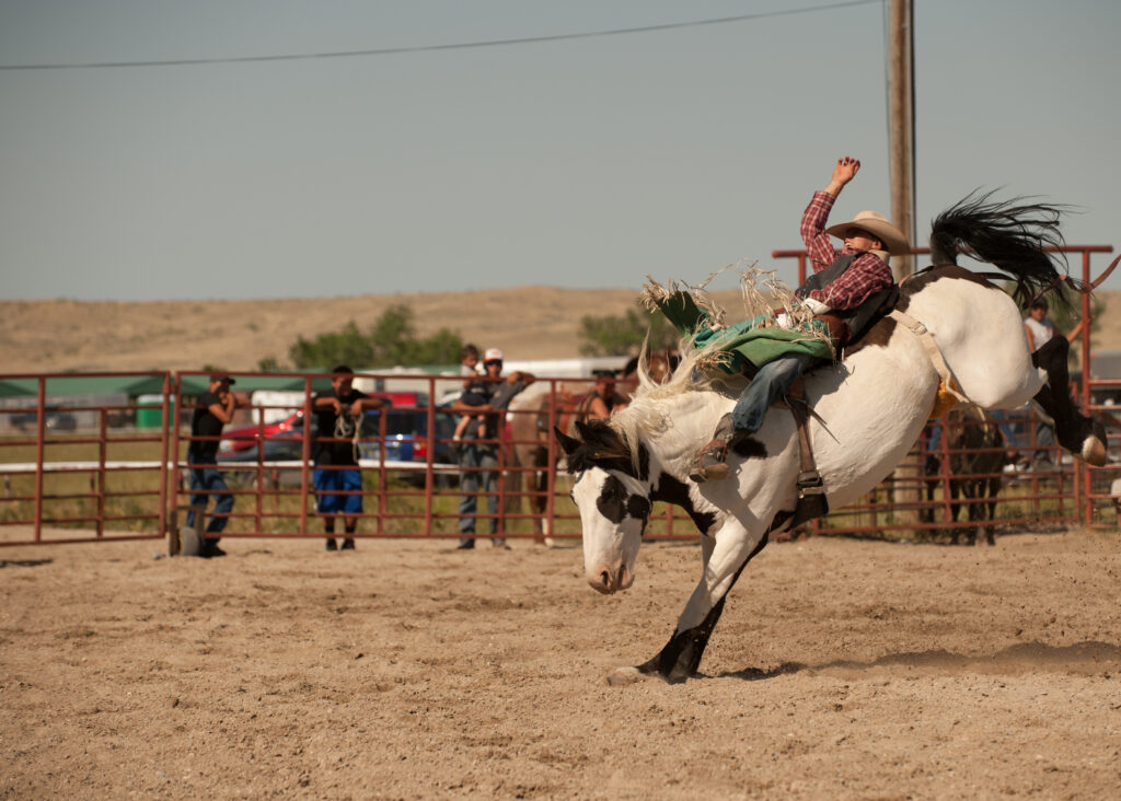Rodeo, Crow Native Days, Crow Indian Reservation